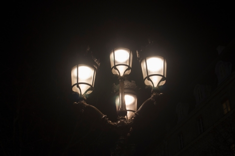 Paris Lampstands