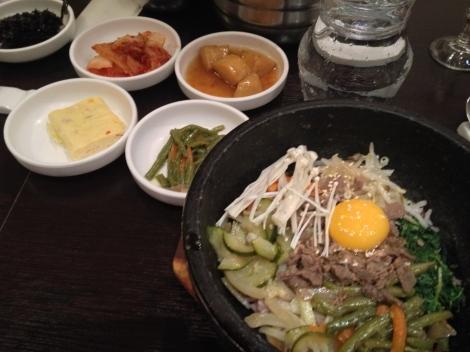 Bi Bim Bap for dinner