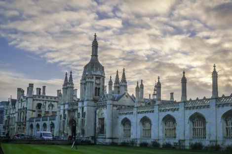 King's College at Dusk