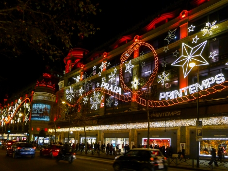 Printemps, a French department store