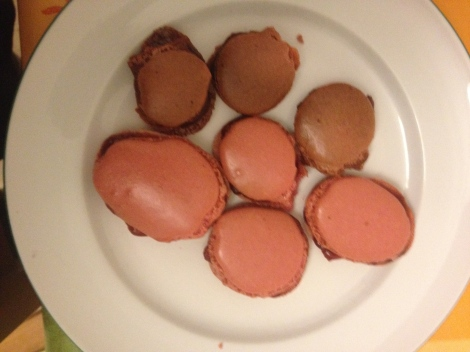 Sadly enough, these were the only good ones of the whole batch.  The 3 in the back are not chocolate, they're burnt.  :(