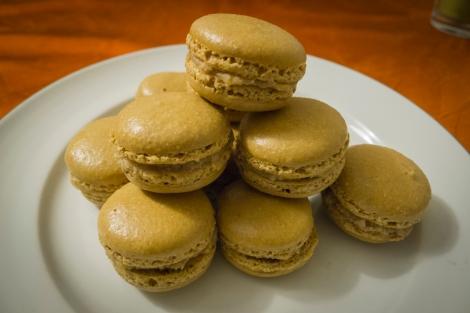 Chestnut Cream Macarons