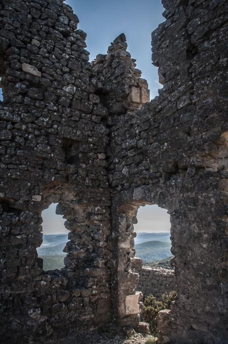 Chateau Montferrand ruins