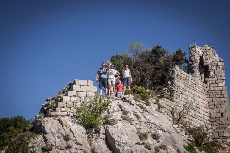 Eric, Hadassah & Layla at the top