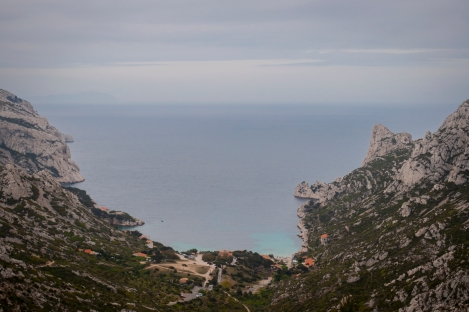 One of the small towns of Les Calanques called Sormiou...