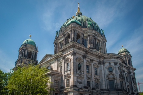The Berliner Cathedral on Museum Island