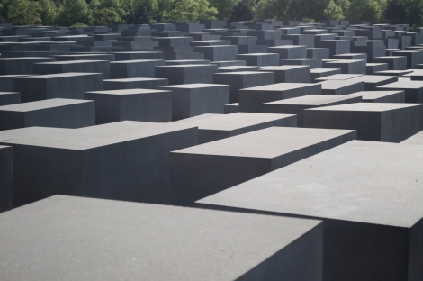 Seemingly simple, yet haunting, sobering and disturbing at the same time, 2711 steles stand in memorial to the victims of the Holocaust