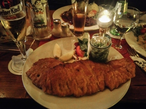 That's a LOT of Schnitzel...