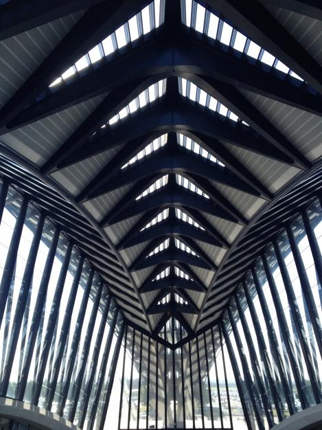 Lyon St. Exupery Train Station