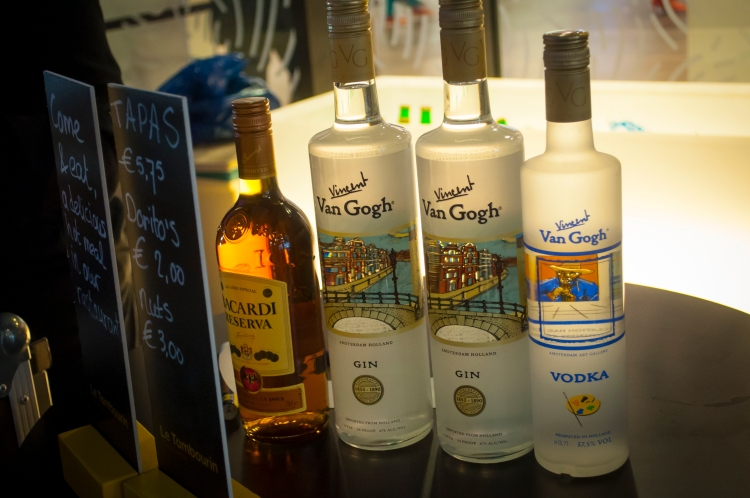 What else would one serve at the Van Gogh museum but Van Gogh spirits?