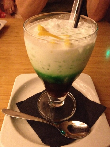 After all that spicy food, this was a refreshing dessert